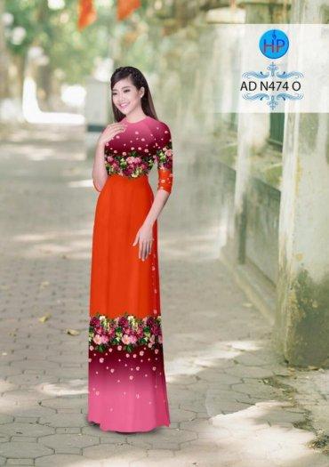 Vải áo dài phối màu Đẹp - lạ - sang của vải Áo Dài Kim Ngọc25