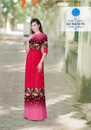 Vải áo dài phối màu Đẹp - lạ - sang của vải Áo Dài Kim Ngọc6