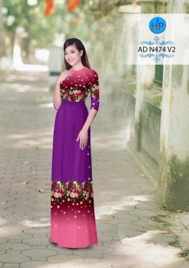 Vải áo dài phối màu Đẹp - lạ - sang của vải Áo Dài Kim Ngọc7