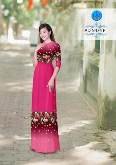 Vải áo dài phối màu Đẹp - lạ - sang của vải Áo Dài Kim Ngọc26
