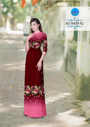Vải áo dài phối màu Đẹp - lạ - sang của vải Áo Dài Kim Ngọc10