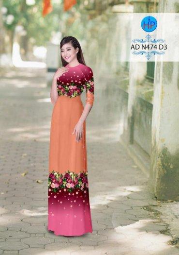 Vải áo dài phối màu Đẹp - lạ - sang của vải Áo Dài Kim Ngọc12
