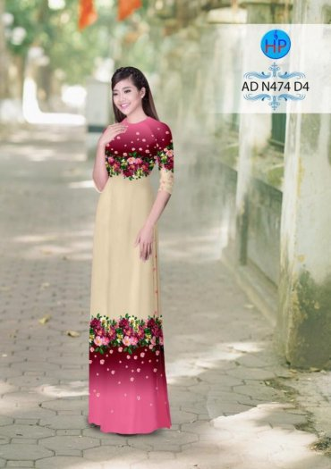Vải áo dài phối màu Đẹp - lạ - sang của vải Áo Dài Kim Ngọc14