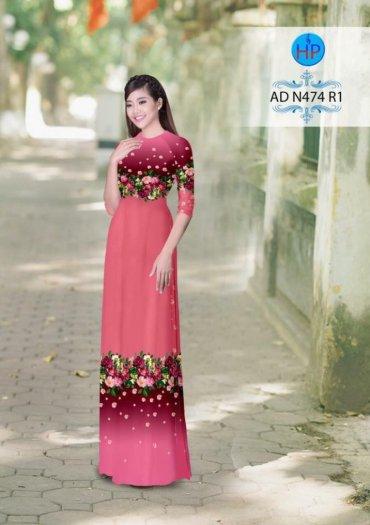 Vải áo dài phối màu Đẹp - lạ - sang của vải Áo Dài Kim Ngọc19