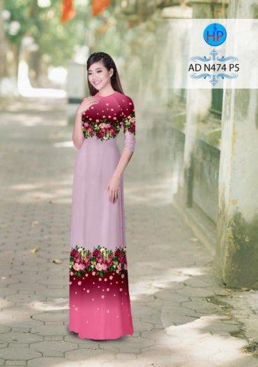 Vải áo dài phối màu Đẹp - lạ - sang của vải Áo Dài Kim Ngọc18