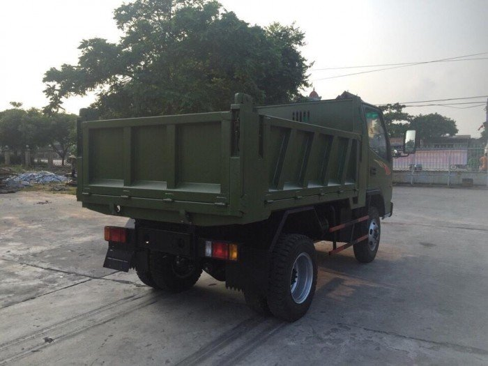 Xe ben DongSung 3.48 tấn 1 cầu thùng 2.7 mét 2