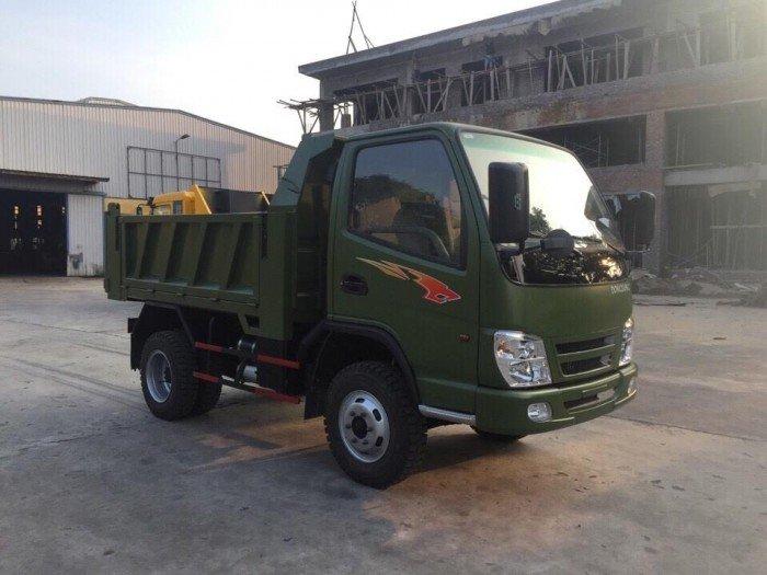 Xe ben DongSung 3.48 tấn 1 cầu thùng 2.7 mét 3