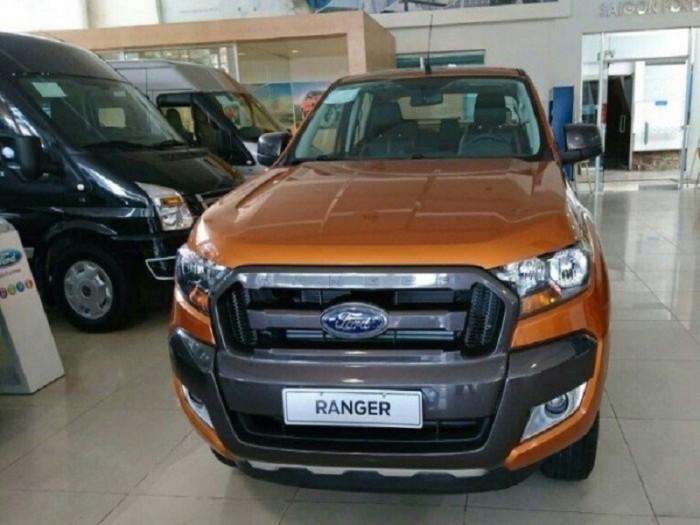 [2] Giá xe Ford Ranger XLS AT 2018, giá xe Ford Ranger 2019 mới nhất