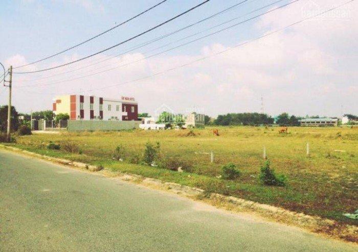 Bán đất 165tr/nền Bình Chánh đối diện Trường cấp 3, MT TL 10, giao sổ hồng ngay