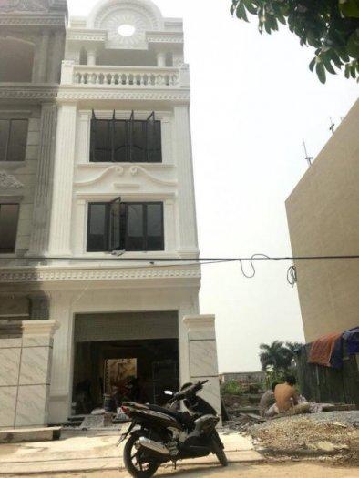 Bán nhà 4 tầng đang hoàn thiện , lô 17 Lê Hồng Phong,Hải An , Hướng Bắc, dt 81m2, giá 3,8 tỷ