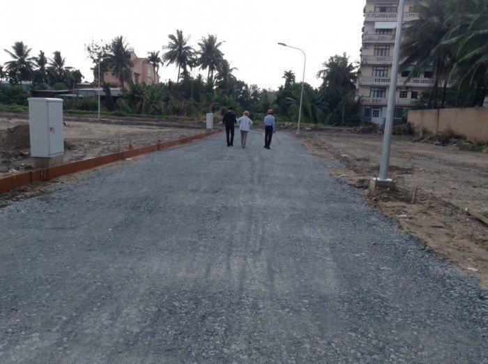 Bán đất tại phường 5, ngay hồ bơi bến cát, sổ hồng chính chủ