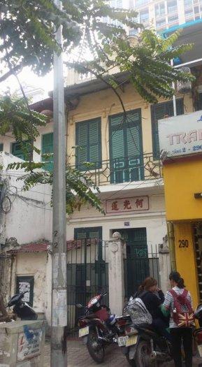 Bán nhà mặt phố Huế Hai Bà Trưng Hà Nội 200m2 mặt tiền 5m