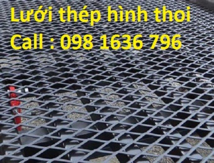 Lưới thép dập giãn - lưới thép hình thoi - lưới quả trám giá rẻ0