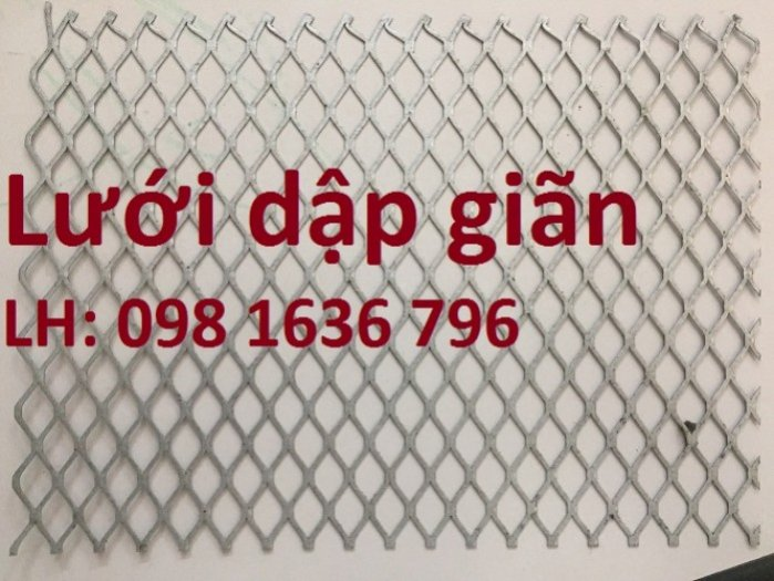 Lưới thép dập giãn - lưới thép hình thoi - lưới quả trám giá rẻ7
