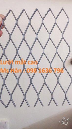 Lưới thép dập giãn - lưới thép hình thoi - lưới quả trám giá rẻ8