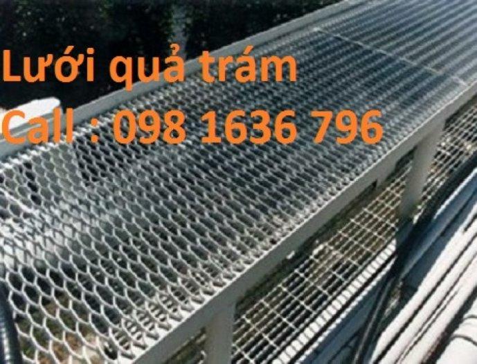 Lưới thép dập giãn - lưới thép hình thoi - lưới quả trám giá rẻ1