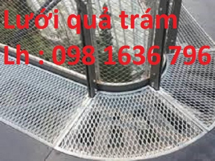 Lưới thép dập giãn - lưới thép hình thoi - lưới quả trám giá rẻ2
