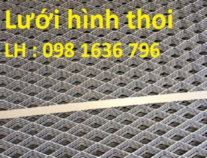 Lưới thép dập giãn - lưới thép hình thoi - lưới quả trám giá rẻ3