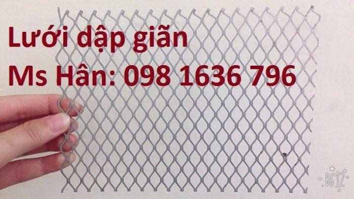 Lưới thép dập giãn - lưới thép hình thoi - lưới quả trám giá rẻ5