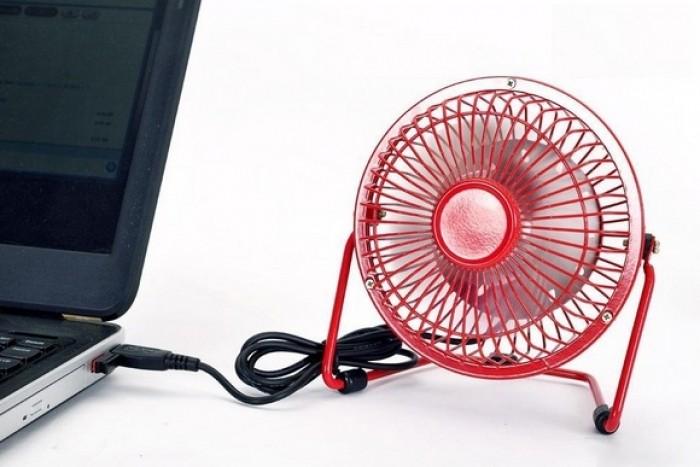 Quạt Lồng Sắt 819 Loại Lớn Cổng USB CỰC MÁT, Gọn nhẹ, tiết kiệm diện tích - MSN388130