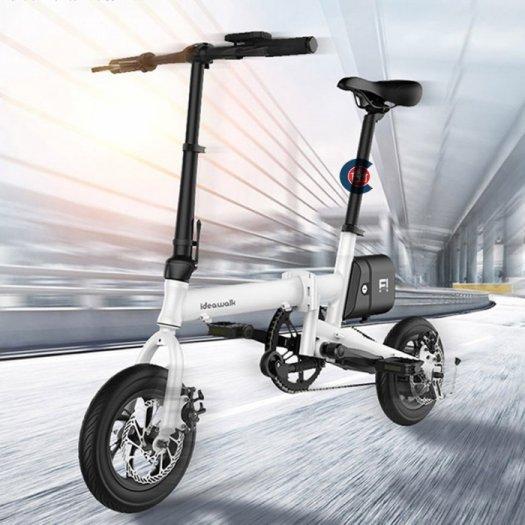 Xe ideawalk F1 đạp điện gon nhẹ thông minh