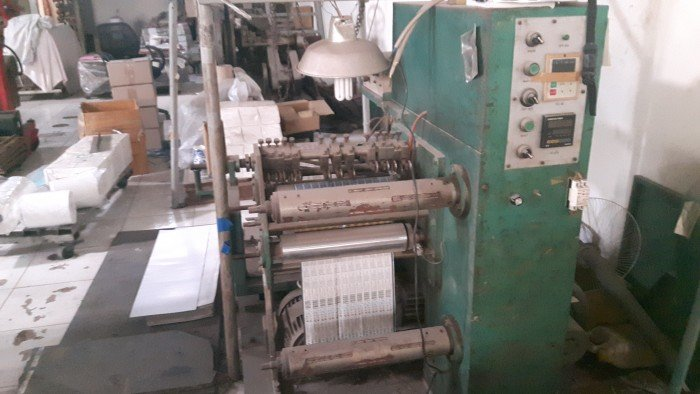 Bán máy in flexo. Máy chia cuộn giấy