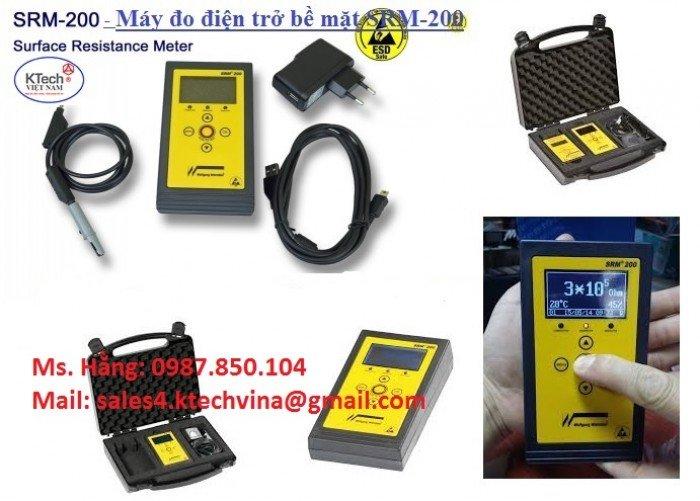 Máy đo điện trở SMR 200