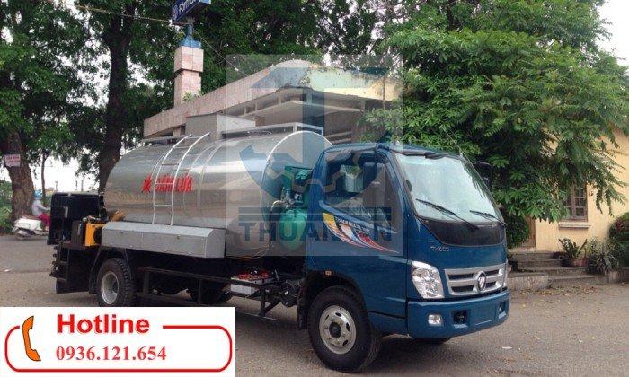 Xe phun tưới nhựa đường 5m3