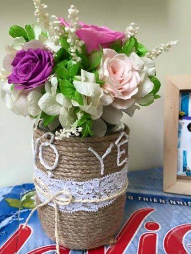 lọ cối hoa hồng bất tử khắc tên bạn bè8