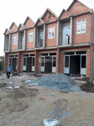 Nhà 1 trệt 1 lầu 100 m2, 500tr NH50%, sổ hồng riêng