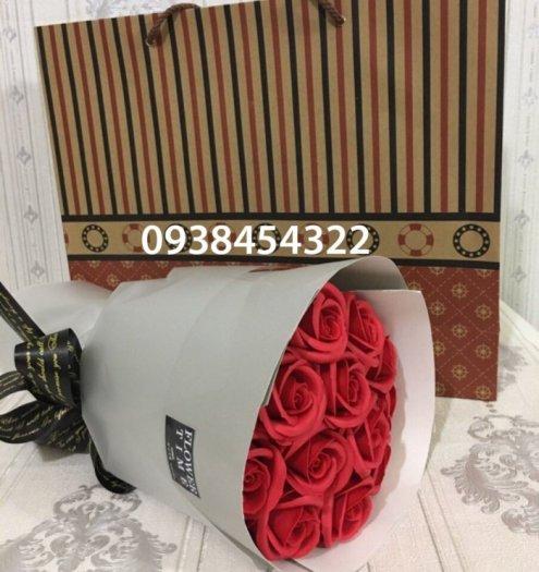 Bó hoa sáp 11 bông - Gía bán 150k (đỏ)15