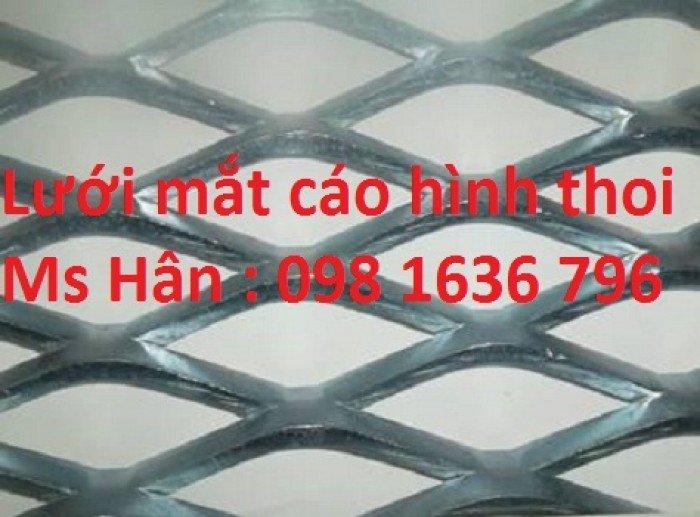 Lưới thép mạ kẽm 2ly hình thoi