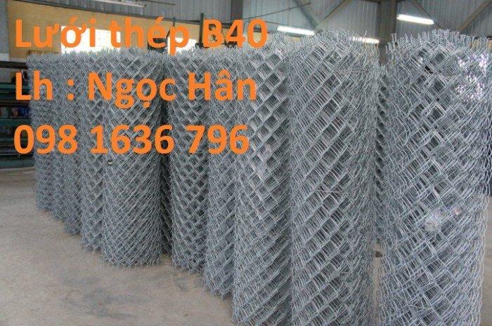 Lưới xây dựng - lưới thép hàn - lưới thép hình thoi - lưới B40 giá ưu đãi nhất10