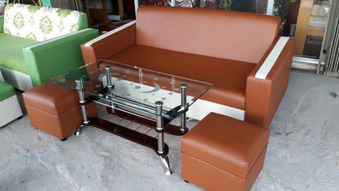 Sofa màu nâu xinh xăn0