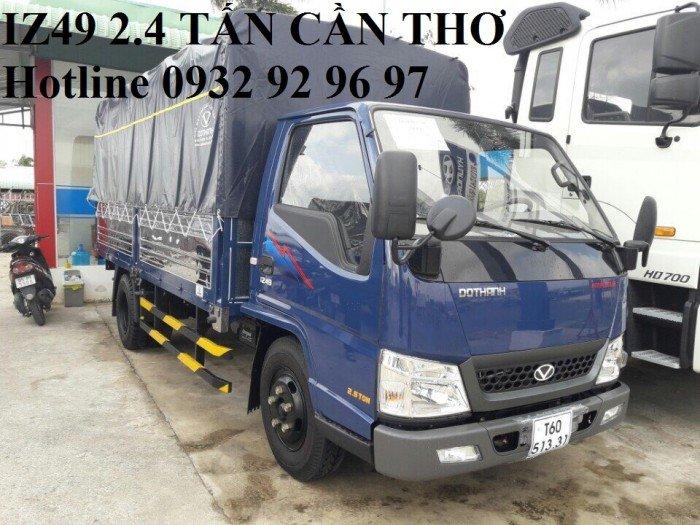 Đại lý xe tải iz49 Cần Thơ,  xe tải 2.4 tấn