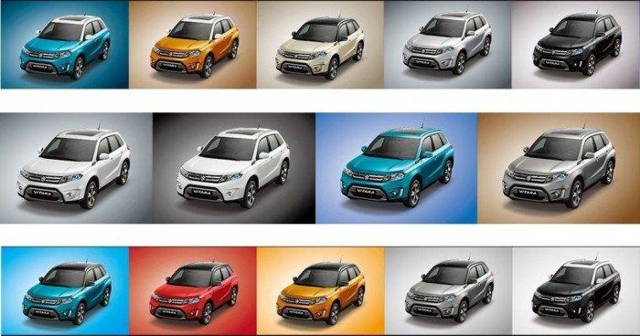 Suzuki Vitara sản xuất năm 2017 Số tự động Động cơ Xăng
