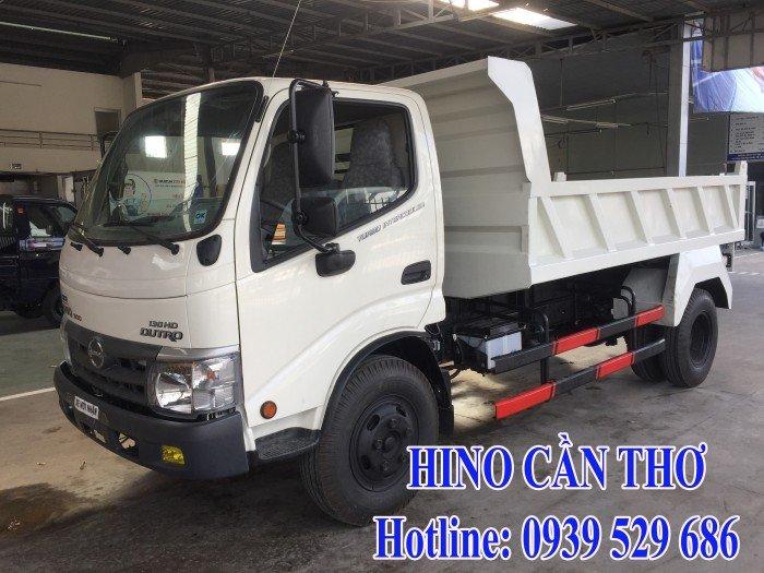 Xe ben Hino 3,5 tấn Cần thơ - Xe ben Hino 3 khối - Xe ben Hino WU342L thùng dài 3,6 m 0