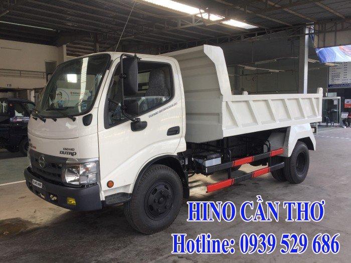 Xe ben Hino 3,5 tấn Cần thơ - Xe ben Hino 3 khối - Xe ben Hino WU342L thùng dài 3,6 m 3