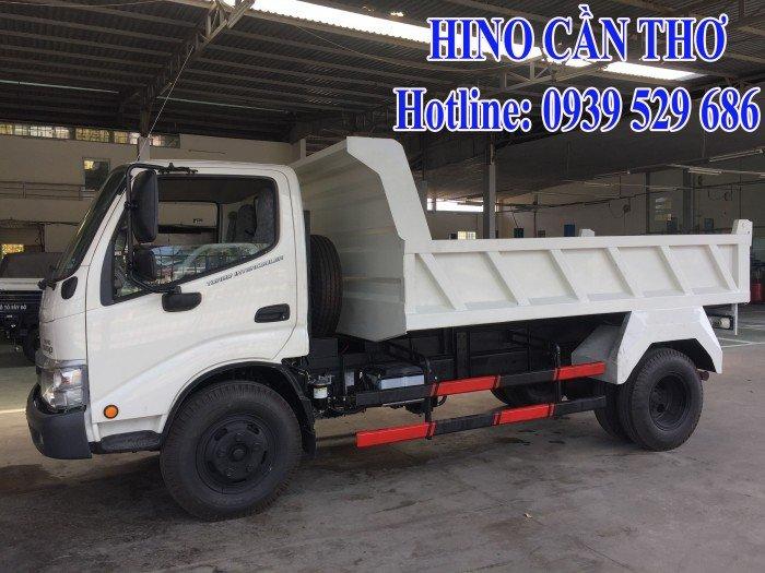 Xe ben Hino 3,5 tấn Cần thơ - Xe ben Hino 3 khối - Xe ben Hino WU342L thùng dài 3,6 m 5