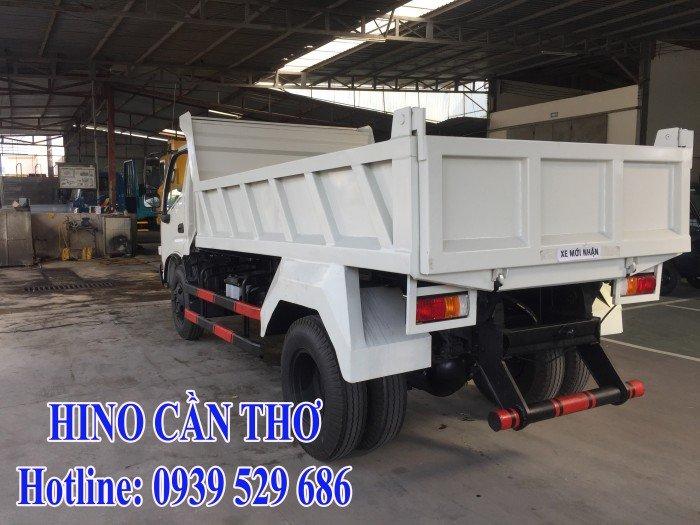 Xe ben Hino 3,5 tấn Cần thơ - Xe ben Hino 3 khối - Xe ben Hino WU342L thùng dài 3,6 m 1
