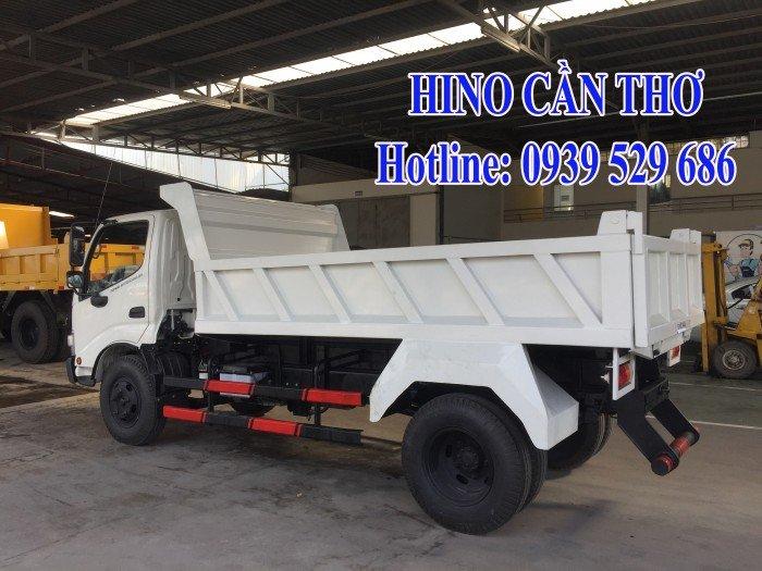 Xe ben Hino 3,5 tấn Cần thơ - Xe ben Hino 3 khối - Xe ben Hino WU342L thùng dài 3,6 m 7