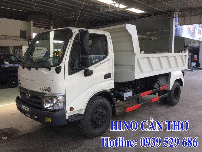 Xe ben Hino 3,5 tấn Cần thơ - Xe ben Hino 3 khối - Xe ben Hino WU342L thùng dài 3,6 m 6