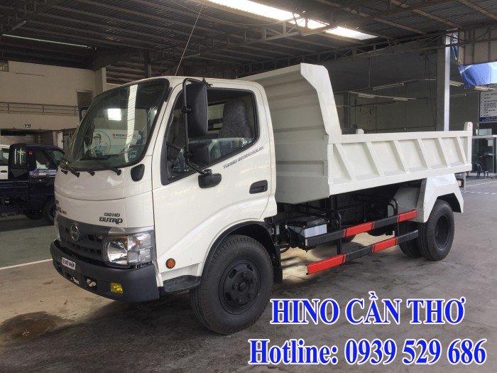 Xe ben Hino 3,5 tấn Cần thơ - Xe ben Hino 3 khối - Xe ben Hino WU342L thùng dài 3,6 m 10