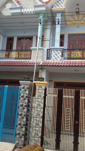 Nhà 1 trệt, 1 lầu ngay KDC mới Hóc Môn,SHR, dọn vào ở ngay
