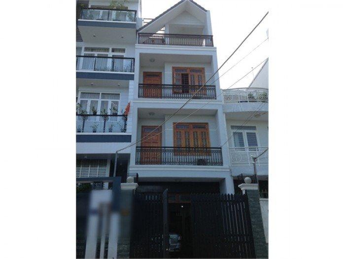 Cần bán gấp nhà mặt tiền đường số 79, Tân Quy, Quận 7, 3 lầu, thiết kế Chuẩn Châu Âu, DT 4,5x19,5