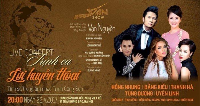 Live concert Trịnh Ca