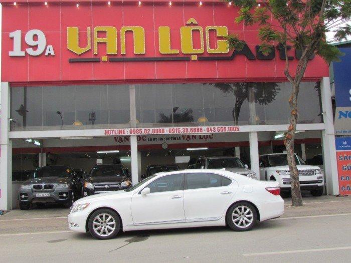 Lexus LS 460L sản xuất năm 2009 Số tự động Động cơ Xăng