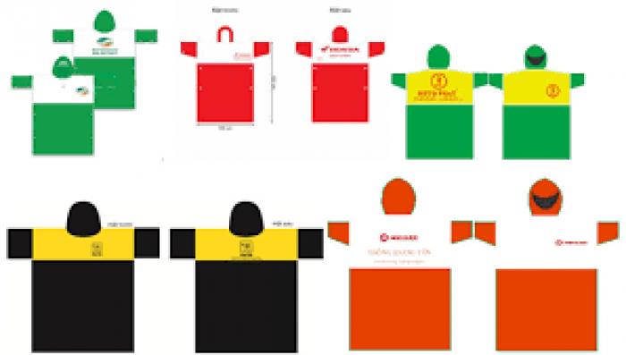 Sản xuất áo mưa Đà Nẵng, áo mưa quảng cáo giá rẻ tại Đà Nẵng3