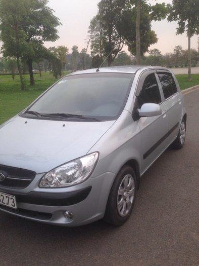 Gia đình cần bán xe hyundai Getz đời 2009, màu bạc, chính chủ, bản đủ. 8