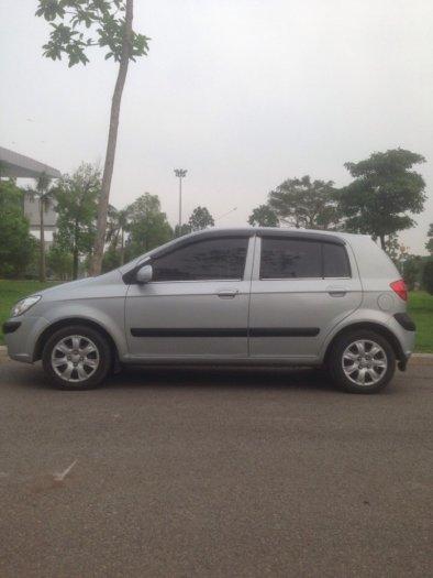 Gia đình cần bán xe hyundai Getz đời 2009, màu bạc, chính chủ, bản đủ. 12